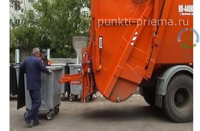 Работа мусоровоза смотреть видео - 4