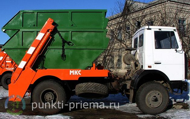 Вывоз крупного мусора клин
