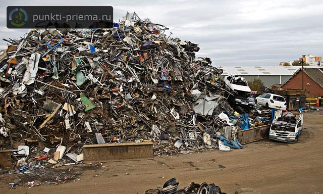Пункт приема металлолома машины и телефон в череповце вывезти металлолом в Павловский Посад