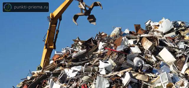 Демонтаж металлолома в Привокзальный москва черный лом