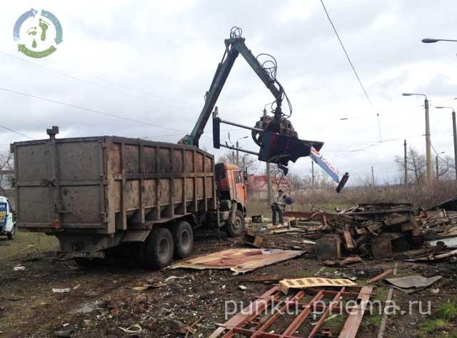 Вывоз металлолома манипулятором в Чехов продать медь в Пушкино