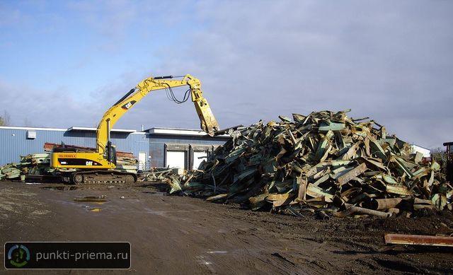 Прием металлолома в южном порту закупка металла в Маслово Совхоз