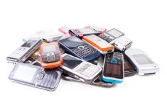 Старые мобильные телефоны