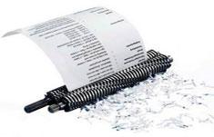 Уничтожения документов